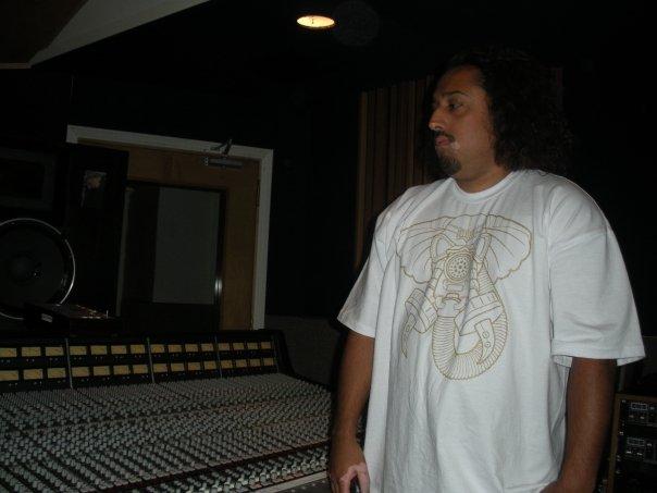 Candyman 187 at Skip Saylor Studios (wearing Hellaphant Mask by Freehand Profit)