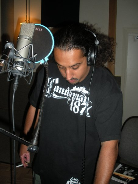 Candyman 187 in the booth.