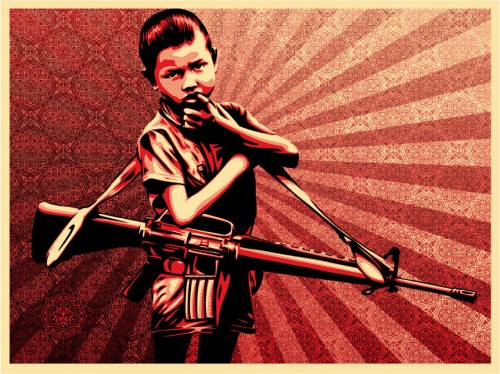Check out more work by Fairey at www.obeygiant.com