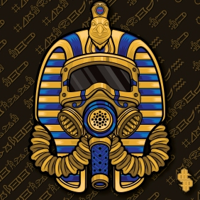 Click to see the original King Tut G.A.S. mask