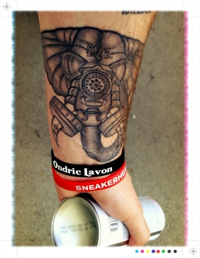 Hellafant Tattoo done by BooBoo Negrete