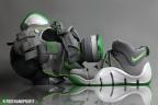 "New mask! Nike Zoom Lebron IV ""Dunkman"" Gas Mask by Freehand Profit"