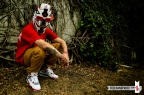 Freehand Profit & Drunk Off Shoes present the Fire Red IV Mask