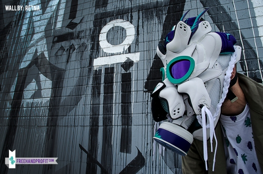 Grape V Gas Mask by Freehand Profit