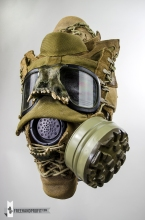 USMC Combat Book Gas Mask