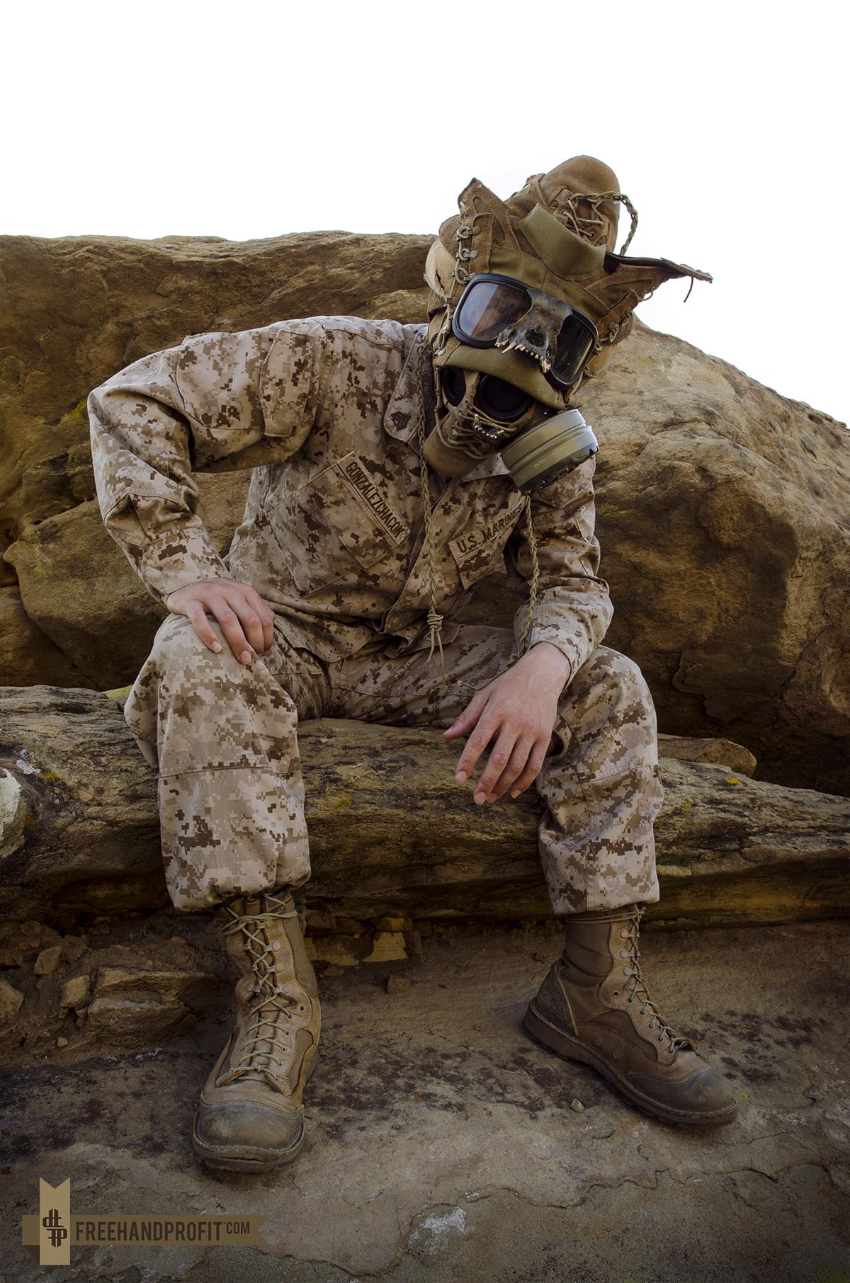 USMC Combat Book Gas Mask – THE BLOG : FREEHANDPROFIT.com