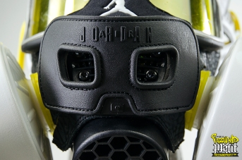 "Spizike Nike iD ""Taxi'Zikes"" Gas Mask by Freehand Profit"