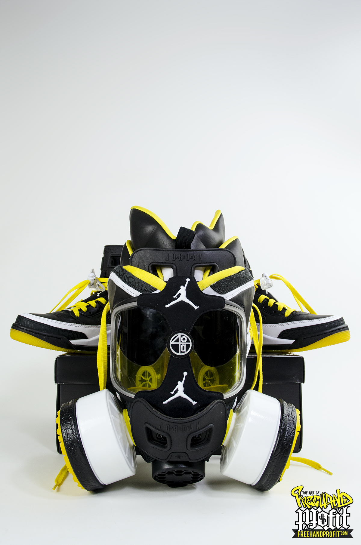 newest 11490 70858 A Tribute to the Crew known as Wu: 3 New Sneaker Masks by ...