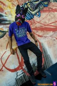 "Air Jordan ""Raptor 7s"" Gas Mask by Freehand Profit"