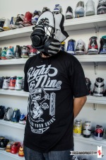 "Air Jordan X ""Steel"" Gas Mask by Freehand Profit"