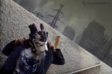 "Nike Air Force 180 ""Olympic"" Mask"