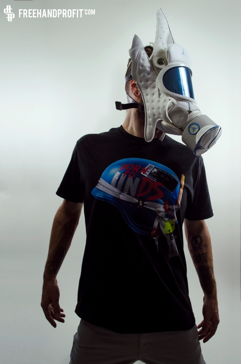 "Jordan XIII (13) ""Nuetral Gray"" Gas Mask"