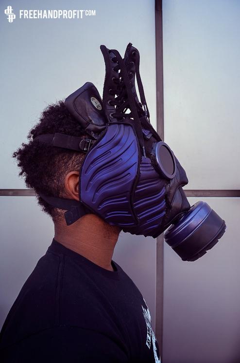 Nike ACG Foamposite Boot Gas Mask