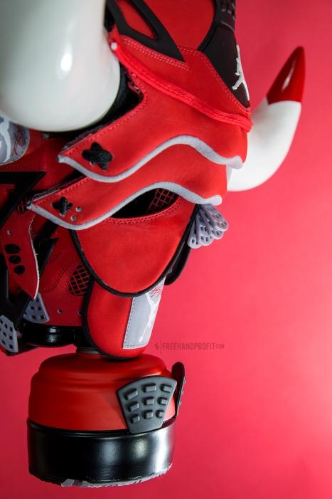 "Air Jordan ""Toro IVs"" Gas Mask by Freehand Profit"