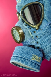 Adidas x Jeremy Scott Denim Wings Mask by Freehand Profit