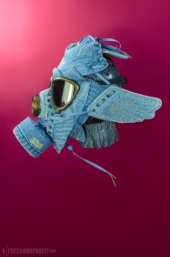 Adidas x Jeremy Scott Denim Wings Mask by Freehand Profit