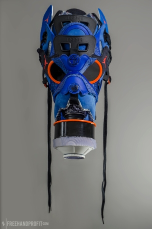 "Jordan Spizike ""Knicks Blue"" Mask by Freehand Profit"