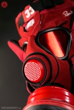"Ewing 33 Hi ""Red Suede"" Sneaker Gas Mask"