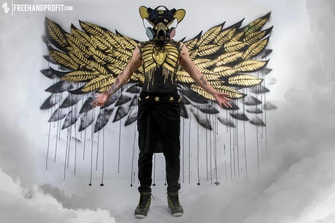 """Air Jodan """"Doernbecher"""" IX (9) Mask by Freehand Profit"""