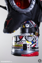 "Air Jordan VIII ""Playoff"" Gas Mask"