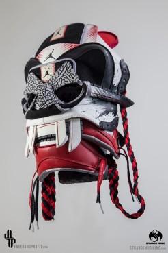 "Jordan 1 ""Dave White"" Mask by Freehand Profit"