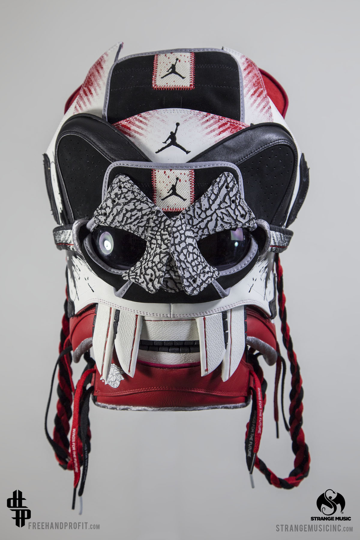 "best sneakers 68a44 1a00e Jordan 1 ""Dave White"" Mask by Freehand Profit"