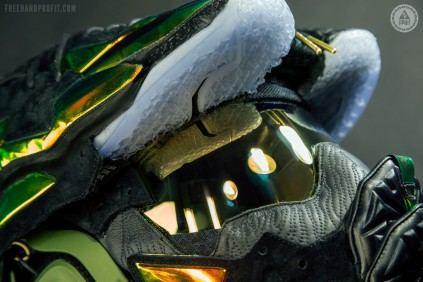 "Lebron XI ""Kings Crown"" EXT Master Chief Helmet by Freehand Prof"