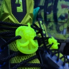 NEW RELEASE: #Tutbebombin (King Tut Gas Mask) Lace Locks now available on FREEHANDPROFIT.BIGCARTEL.com