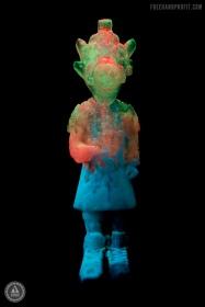South Beach Jade glowing in the dark.