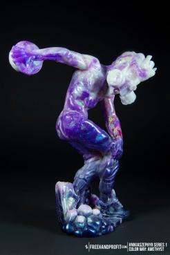 Amethyst 01 Nikias Zephyr Freehand Profit Art Figure Series 1