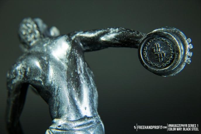 Black Steel 01 Nikias Zephyr Freehand Profit Art Figure Series 1