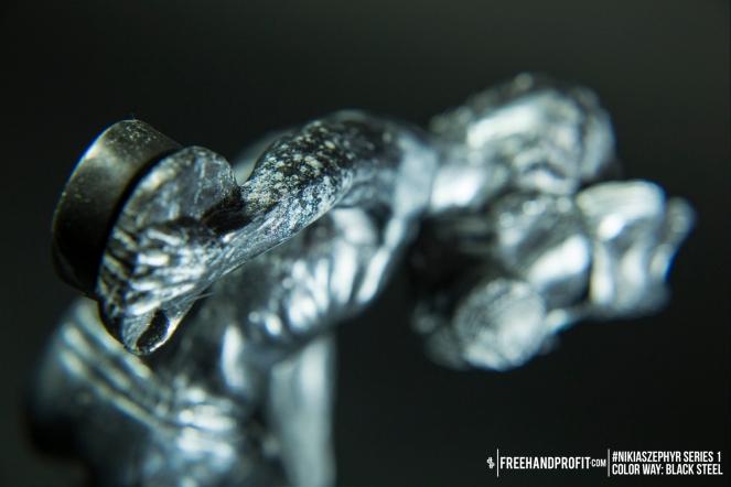 Black Steel 02 Nikias Zephyr Freehand Profit Art Figure Series 1