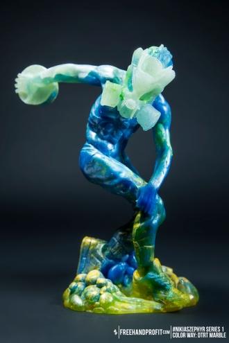 DTRT Marble 02 Nikias Zephyr Freehand Profit Art Figure Series 1