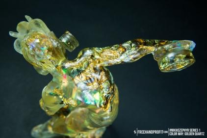 Golden Quartz 01 Nikias Zephyr Freehand Profit Art Figure Series 1