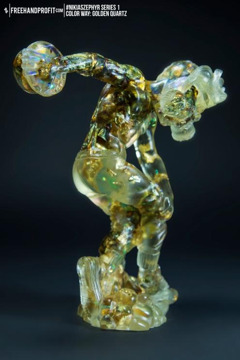 Golden Quartz 03 Nikias Zephyr Freehand Profit Art Figure Series 1
