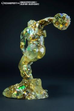 Golden Quartz 04 Nikias Zephyr Freehand Profit Art Figure Series 1