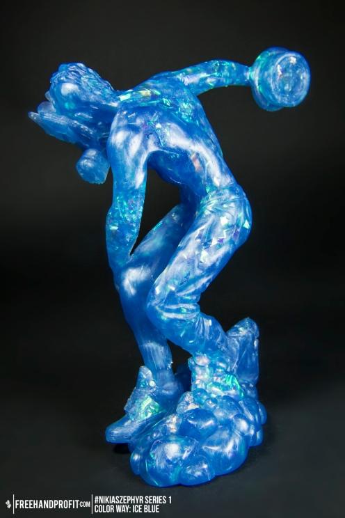 Ice Blue 02 Nikias Zephyr Freehand Profit Art Figure Series 1