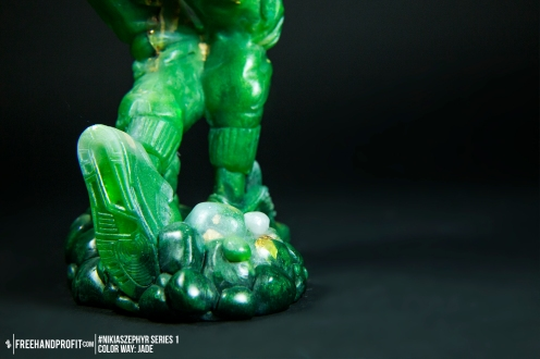 Jade 01 Nikias Zephyr Freehand Profit Art Figure Series 1
