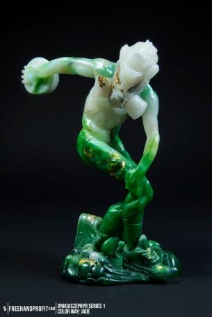 Jade 03 Nikias Zephyr Freehand Profit Art Figure Series 1