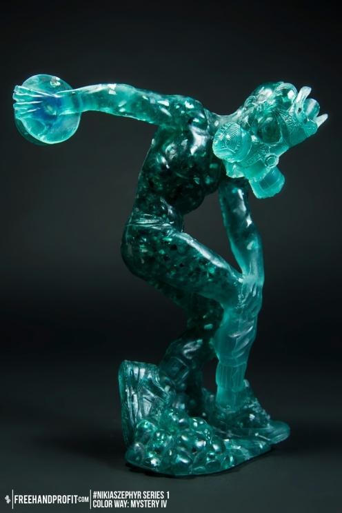 Mystery IV 03 Nikias Zephyr Freehand Profit Art Figure Series 1
