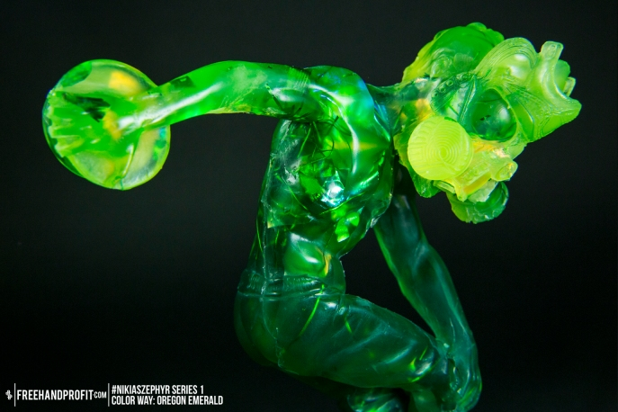 Oregon Emerald 01 Nikias Zephyr Freehand Profit Art Figure Series 1