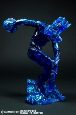 True Blue Sapphire 01 Nikias Zephyr Freehand Profit Art Figure Series 1
