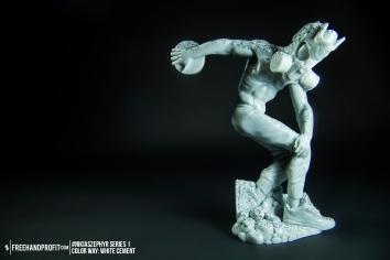 White Cement 01 Nikias Zephyr Freehand Profit Art Figure Series 1