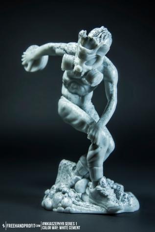 White Cement 02 Nikias Zephyr Freehand Profit Art Figure Series 1