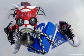 """Cheech & Chong"" Nike SB Dunk Gas Mask by Freehand Profit"
