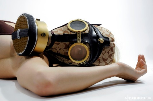 Coach Sneaker Gas Mask by Freehand Profit