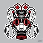 Daily Creation: AJF 4 Gas Mask Vector Illustration