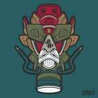 Daily Creation: Cigar & Champagne 6 Gas Mask vector
