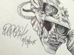 Daily Sketch: USMC Boot Gas Mask