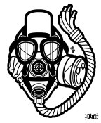 Daily Creation: Concord XI Gas Mask vector illustration